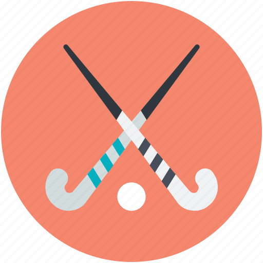 hockey, hockey equipment, hockey stick, sports, sports equipment icon