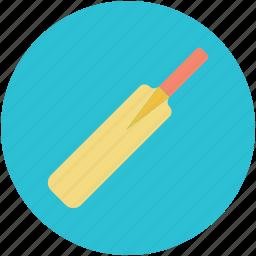 bat, cricket, cricket bat, game, sports icon