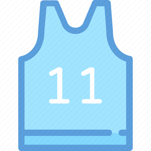 singlet, sports shirt, sports vest, sportswear, wrestler shirt icon
