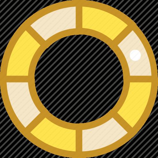 life ring, lifebuoy, lifeguard, lifesaver, ring buoy icon
