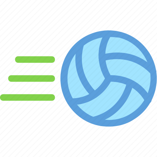 competition, sports, volleyball, volleyball hit, volleyball throw icon