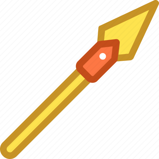 dragon javelin, iron javelin, javelin, sports, weapon icon