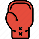boxing, game, glove, play, sport icon