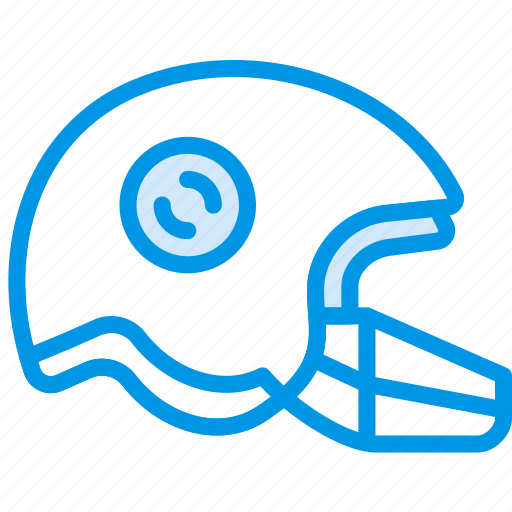 football, game, helmet, play, sport icon