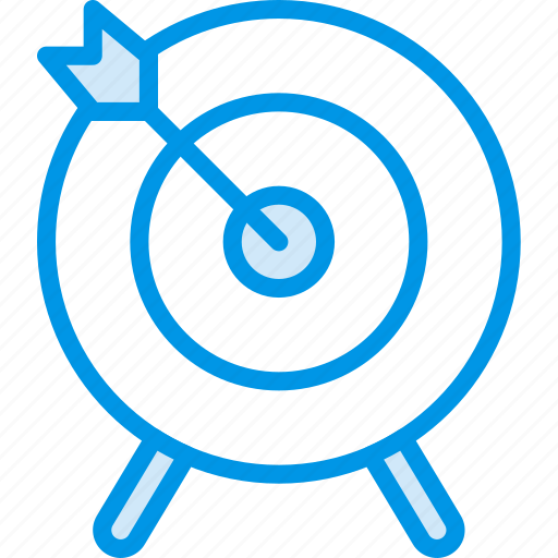 game, play, sport, target icon