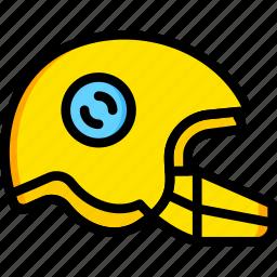 football, game, helmet, play, sport icon
