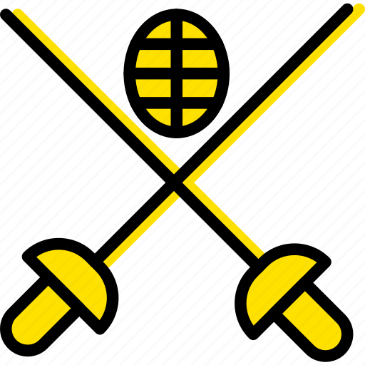 fencing, game, play, sport icon