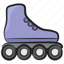roller skates, skate shoe, skateboarding, skates, skating sports