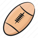 american football, association football, olympic sports, rugby, rugby ball icon