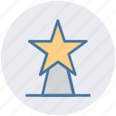 award, cup, medal, reward, star, win, winner icon