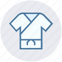 clothe, judo, karate, karate dress, martial, ninja, taekwondo icon