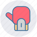 boxing, boxing glove, fight, glove, gym, kickboxing, training icon