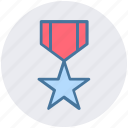 award, badge, health, medal, position, reward, sports icon
