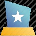 award, medal, position, prize, reward, star