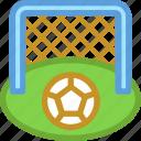 goal post, soccer goal, soccer match, soccer net, soccer stadium