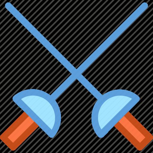 crossguard, fighting, medieval, medieval blade, swords icon