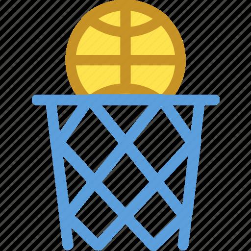 backboard, basketball goal, basketball hoop, basketball net, basketball stand icon