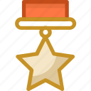 army medals, award, medal, star medal, success icon