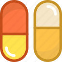 antibiotic, capsules, cure, health care, medicines icon