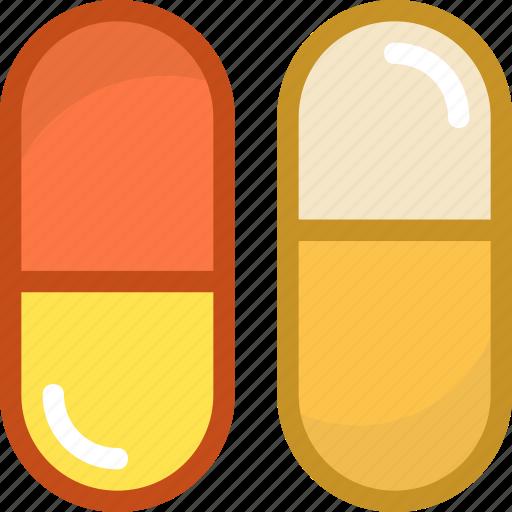 antibiotic, capsules, cure, health care, medicines icon