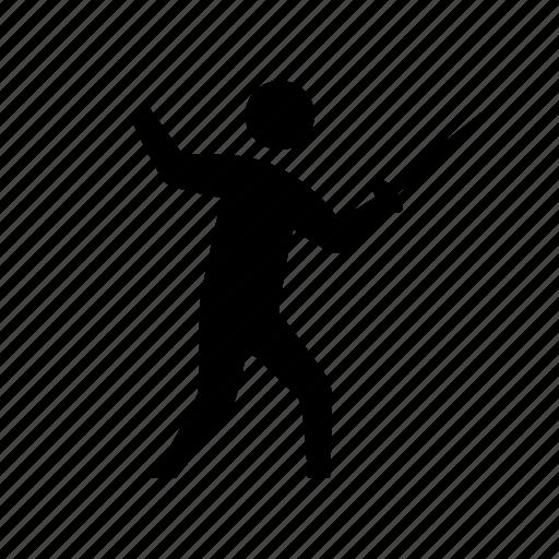 fencing, foil, olympic, rapier, sport, sword, swordsmanship icon