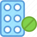 medicines, supplements, tablets, treatment, vitamins icon