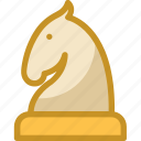 board game, chess figure, chess game, chess knight, chess piece icon