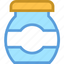 medication, medicine, protein jar, supplement, vitamins icon