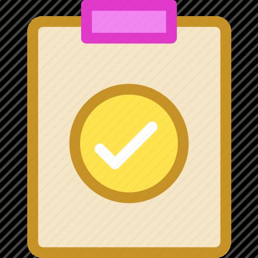 checklist, clipboard, diet plan, list, task icon
