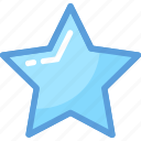 best, favorite, five point, like, star icon