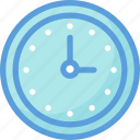 clock, timekeeper, timepiece, timer, wall clock icon