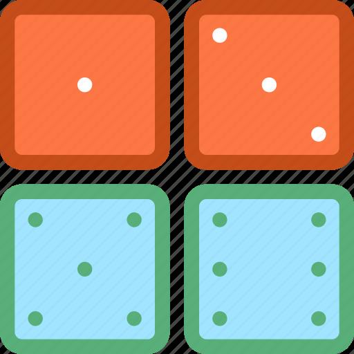 board game, casino, dice, gambling, ludo icon