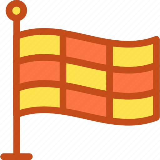 ensign, flag, location flag, race flag, sports flag icon