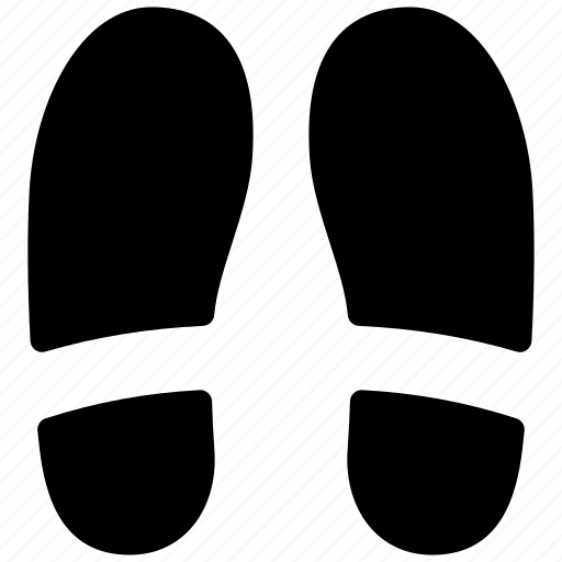 creative, foot, footprint, grid, impression, print, shape, shoe-print, sign, sports, steps, track, trail icon