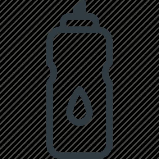 bottle, fittness, sport, sports, water icon