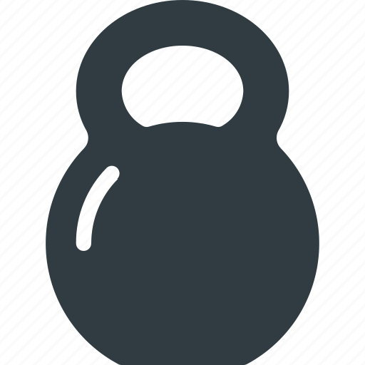 fittness, kettlebell, lift, sport, sports, wheight icon