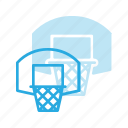 basket, basketball, fittness, net, sport, sports icon