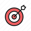 archery, arrow, collection, sport, trophy icon