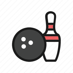 bowling, collection, pin, sport, trophy icon