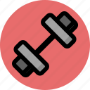 dumbbells, equipment, fitness, gym, sport, training icon