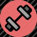 dumbbells, equipment, fitness, gym, sport, training icon