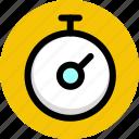 speed, sport, stopwatch, timer icon