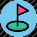 aim, sport, target icon