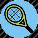 sport, sports, tennis racket icon