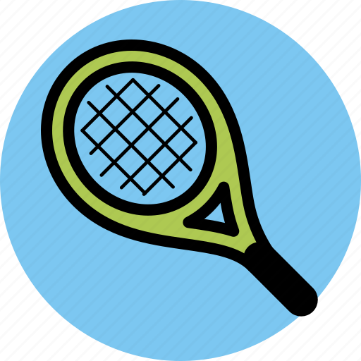 sport, sports, tennis racket icon