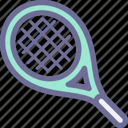 racing, sport, tennis racket icon