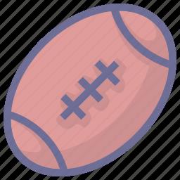 ball, rubgby, sport icon
