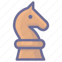 chess, plan, racing icon