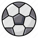 ball, field ball, football, goal ball, sports equipment icon