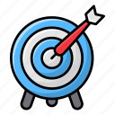 archery, bow arrow, bow hunting, dartboard, olympics sports, shooting sports icon